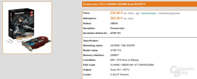 PowerColor Radeon HD 4890