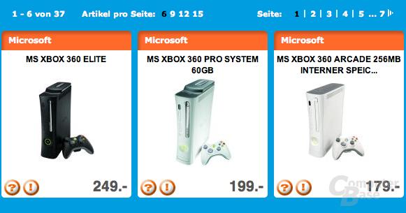 Xbox 360 bei Expert