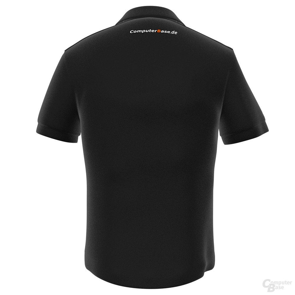 Polo-Shirts ComputerBase - Rückseite