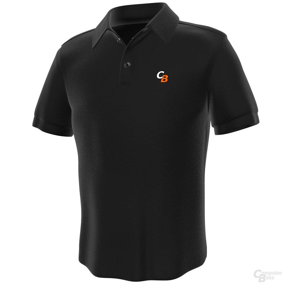 Polo-Shirts ComputerBase – Vorderseite