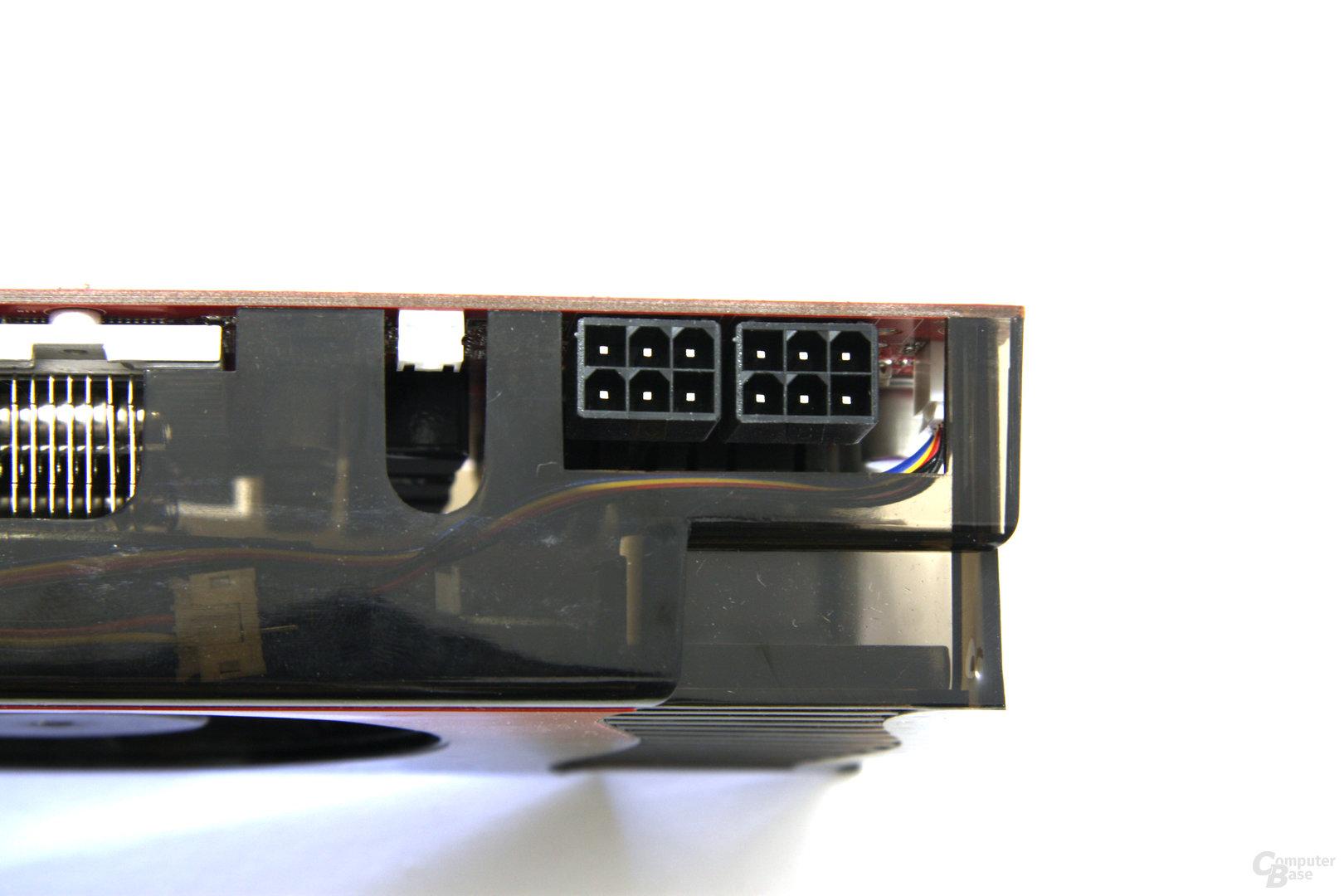 GeForce GTX 260 GS GLH Stromanschlüsse