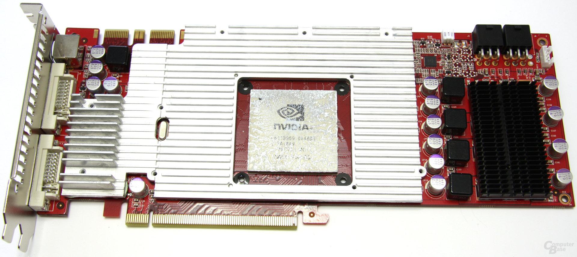GeForce GTX 260 GS GLH ohne GPU-Kühler