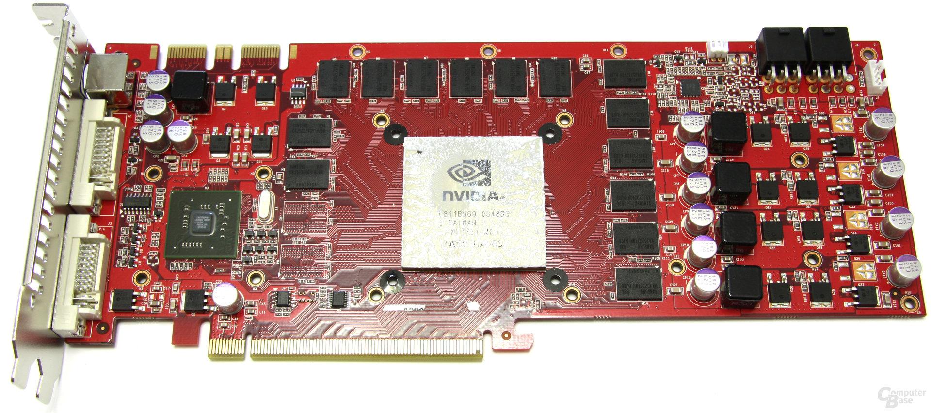 GeForce GTX 260 GS GLH ohne Kühler