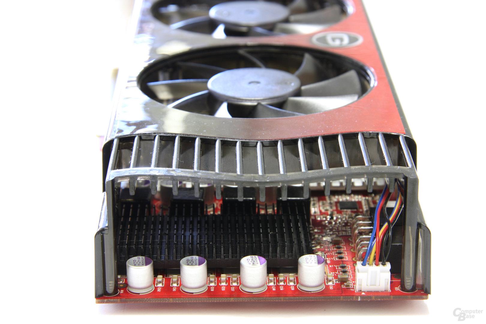 GeForce GTX 260 GS GLH von hinten