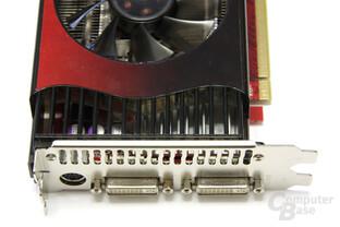 GeForce GTX 260 GS GLH Anschlüsse