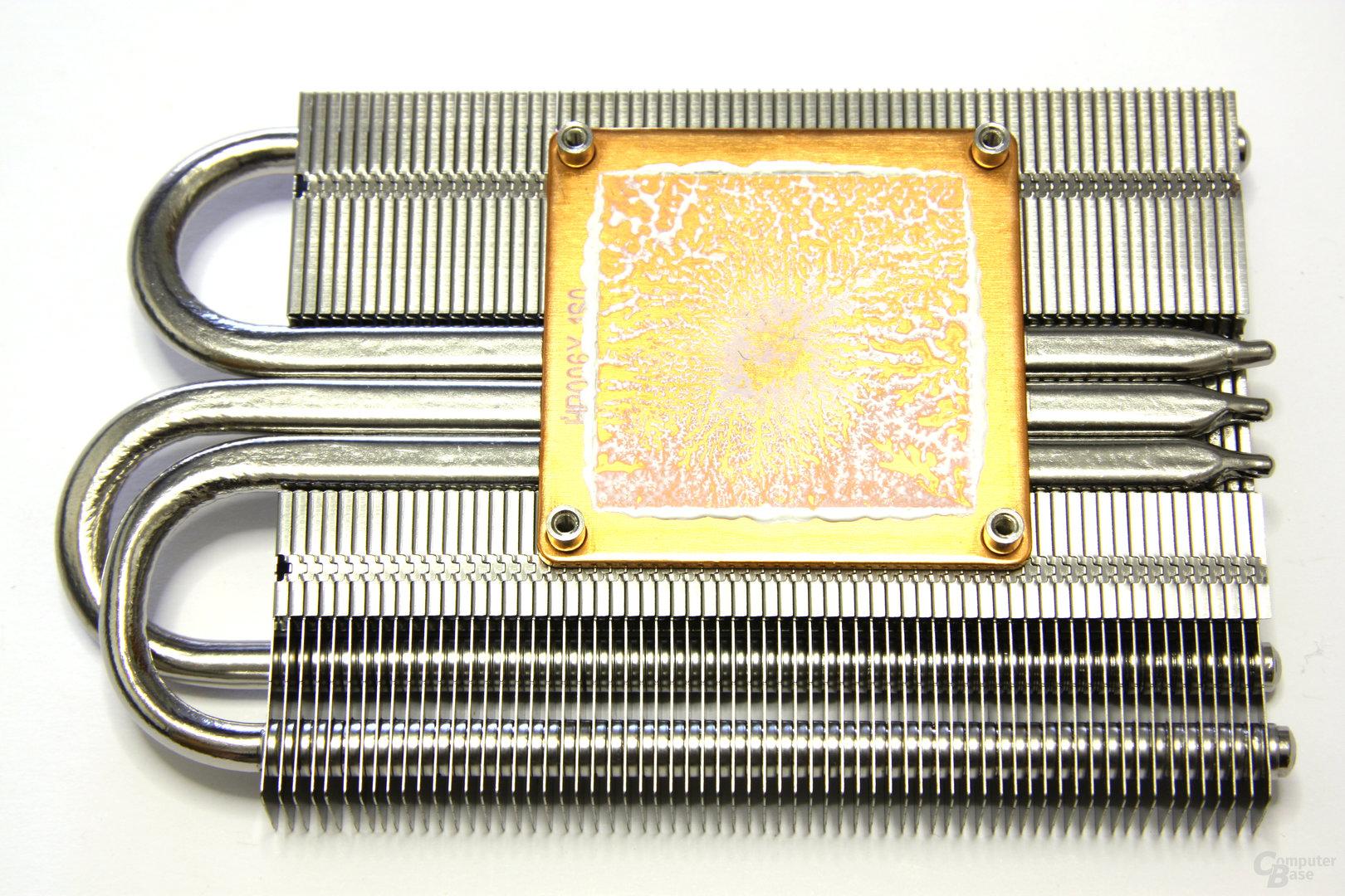 GeForce GTX 260 GS GLH Kühlerrückseite
