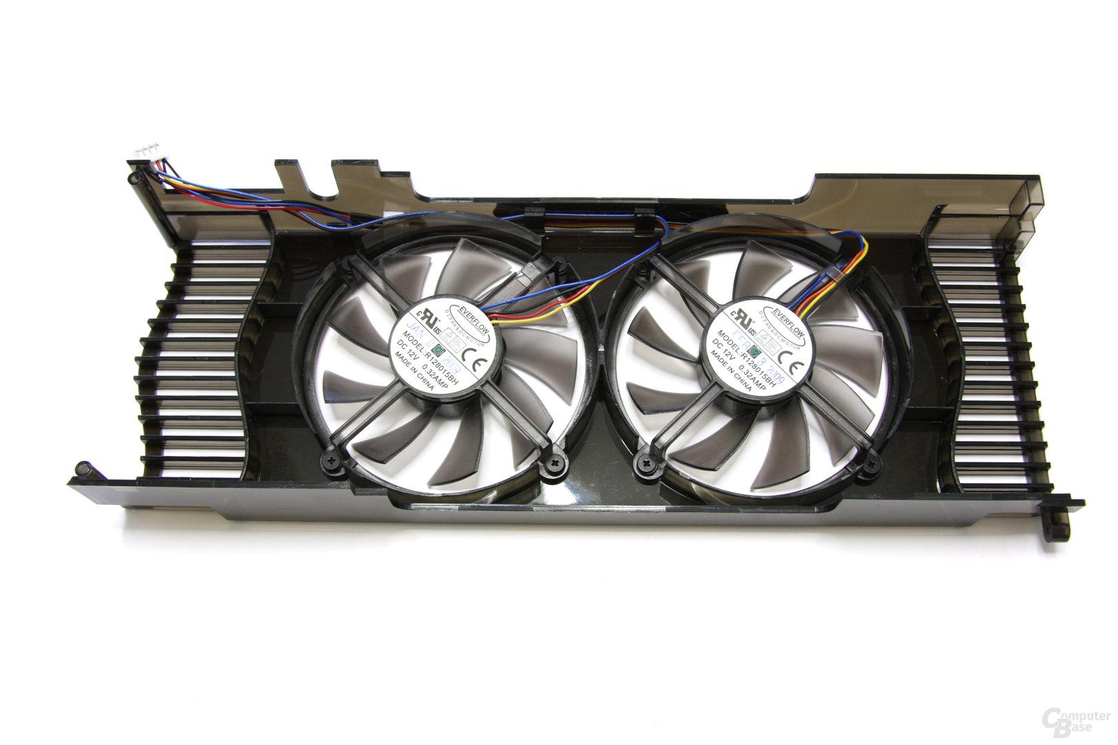 GeForce GTX 260 GS GLH Lüfterrückseite