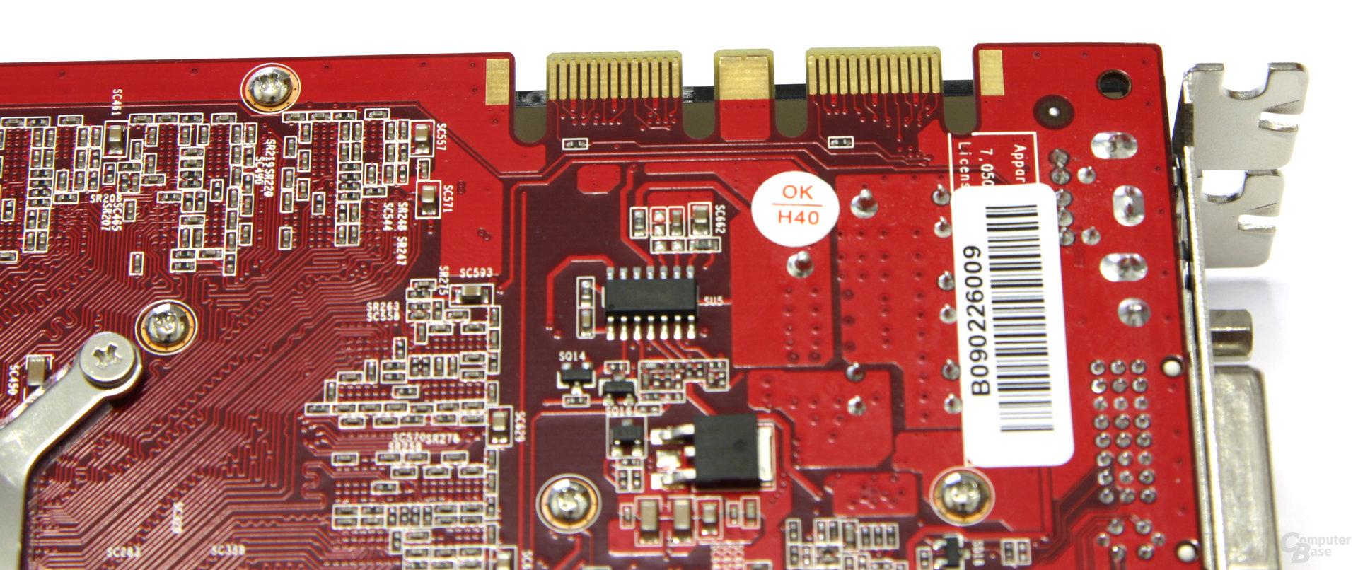 GeForce GTX 260 GS GLH SLI-Anschlüsse