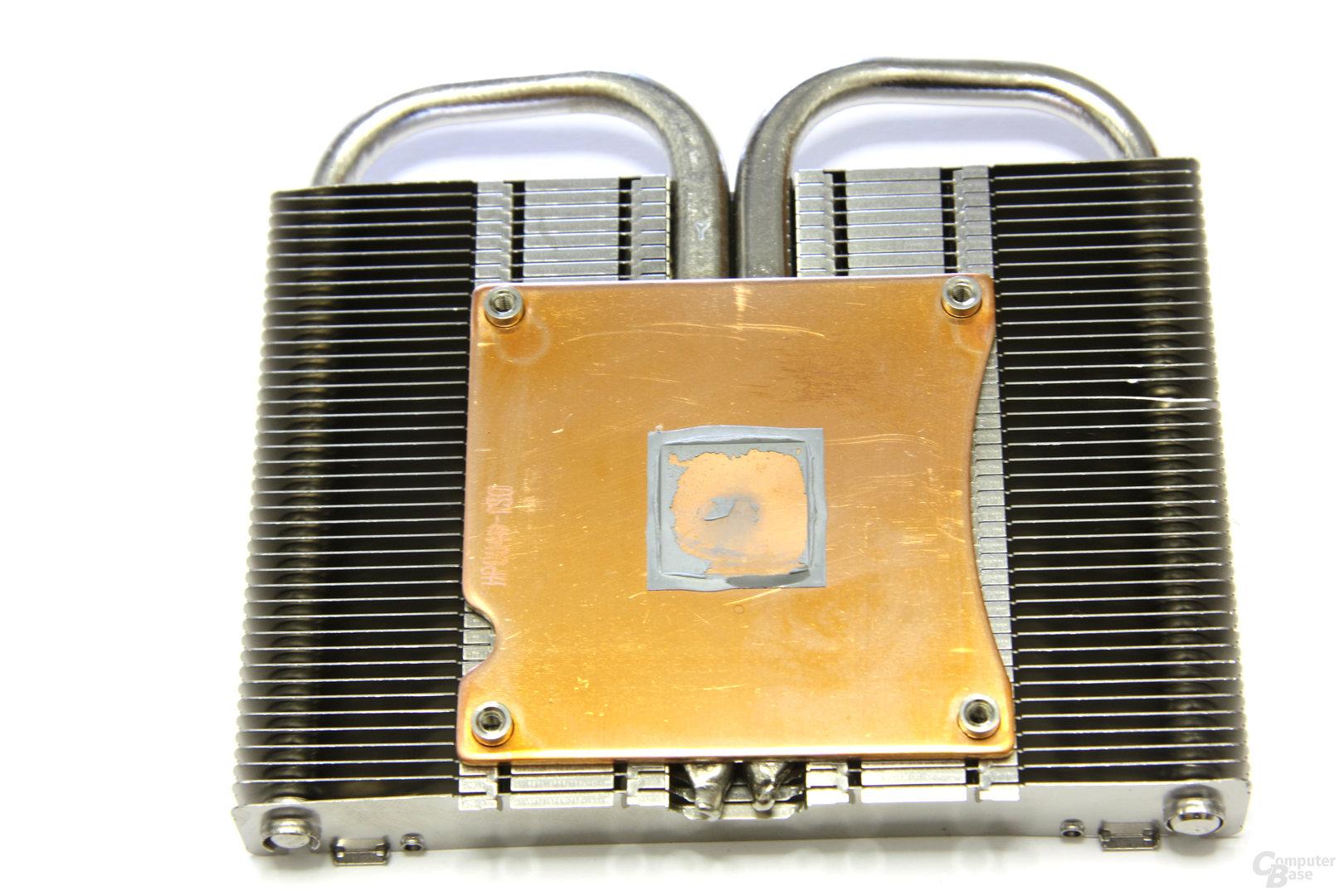 Radeon HD 4850 GS GLH Kühlerrückseite