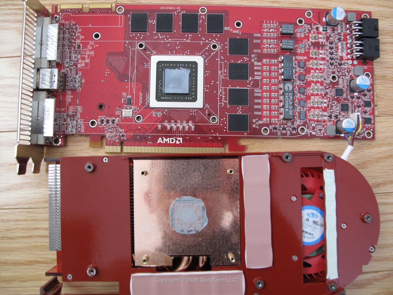 Radeon HD 4890 ohne Kühler