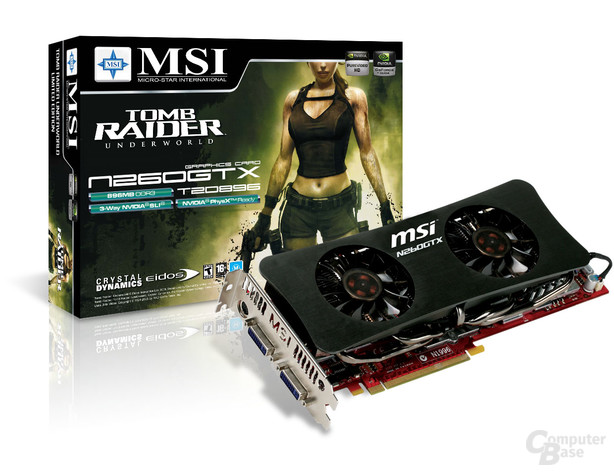 MSI N260GTX-T2D896 Twin Frozr