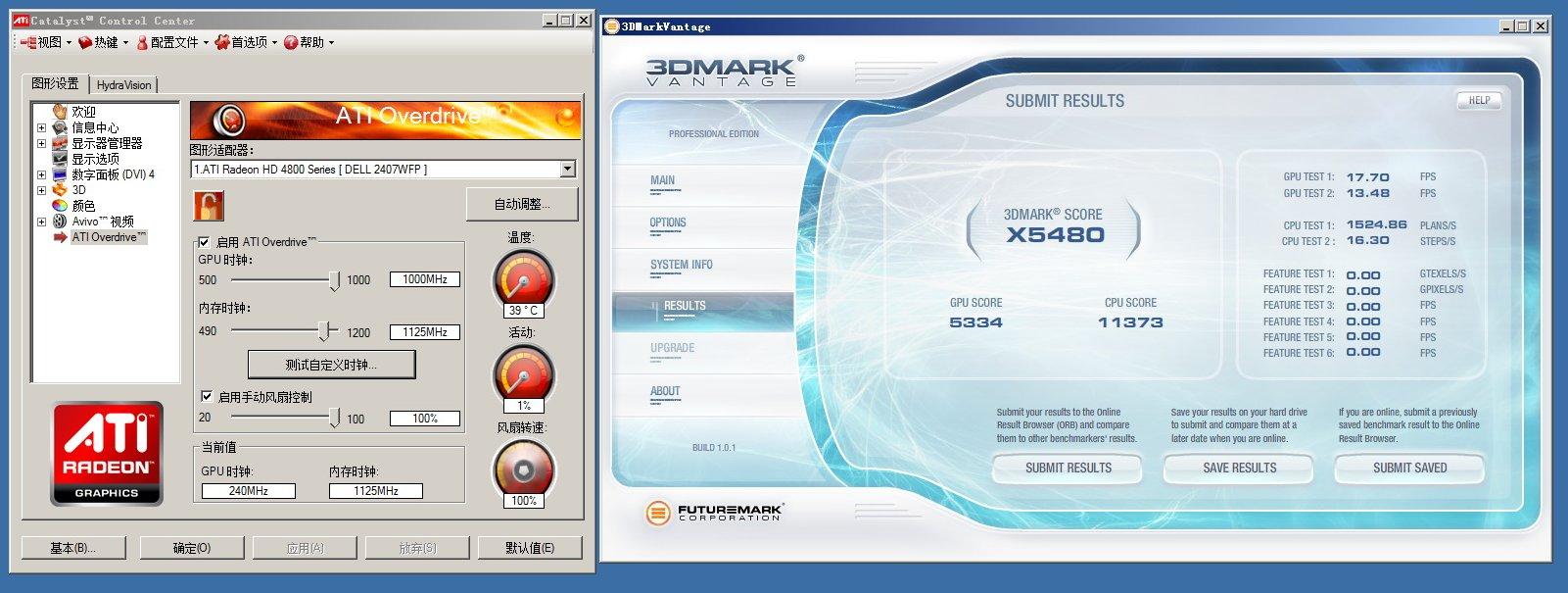 Radeon HD 4890 bei 1-GHz-Chiptakt