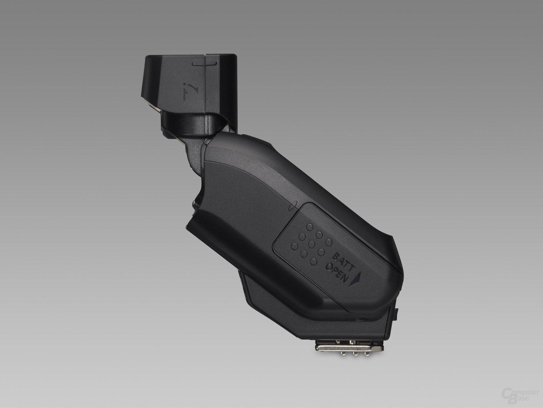 Canon Speedlite 270EX – Blitzkopf verschwenkt