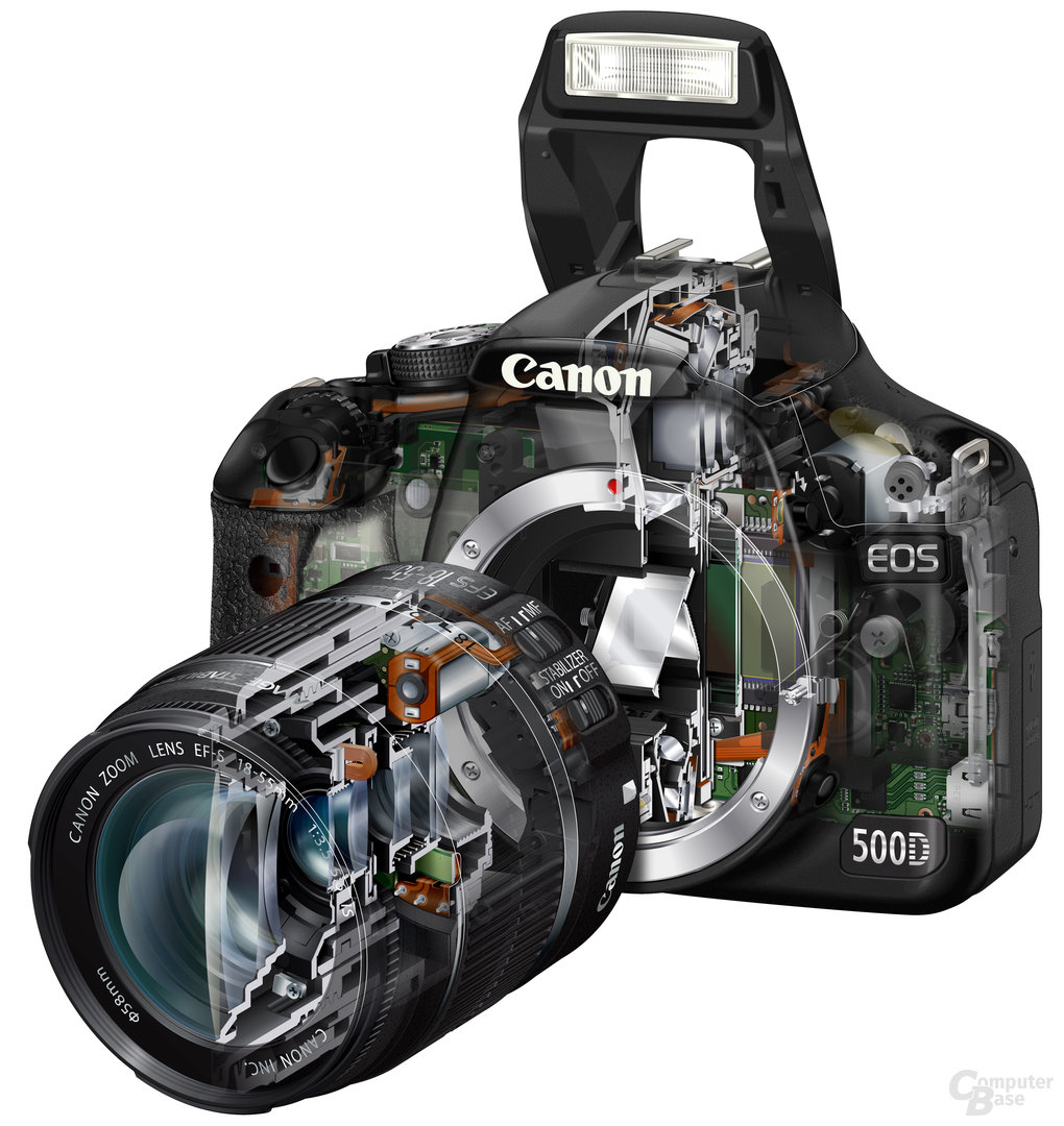Canon EOS 500D mit EF-S 18-55mm 1:3.5-5,6 IS
