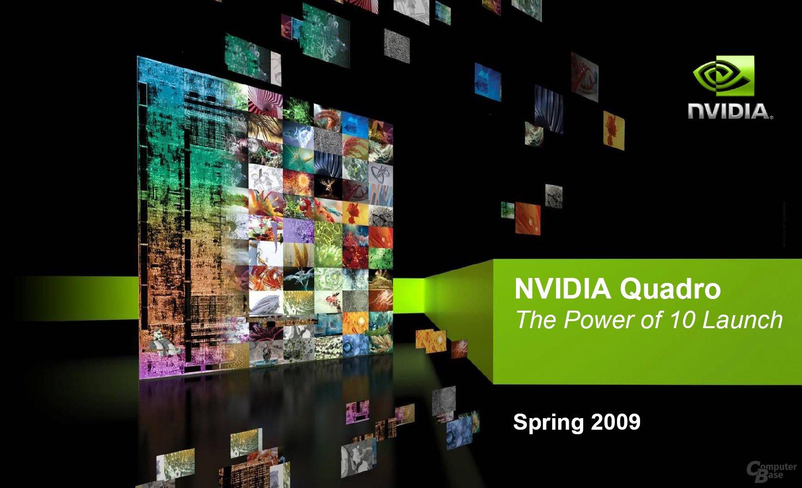 Nvidia Quadro im Frühjahr 2009