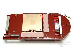 Radeon HD 4890 Kühlerrückseite