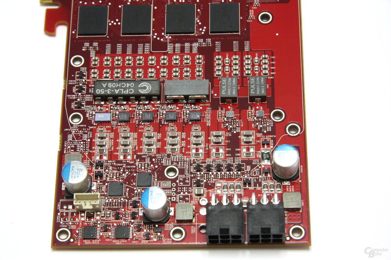 Radeon HD 4890 Spannungswandler