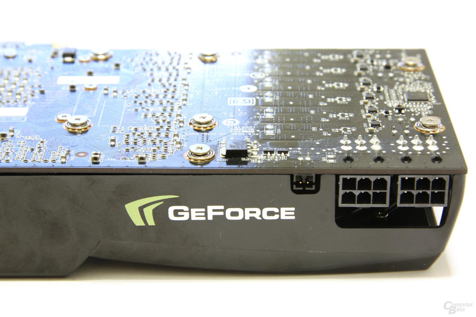 GeForce GTX 275 Stromanschlüsse