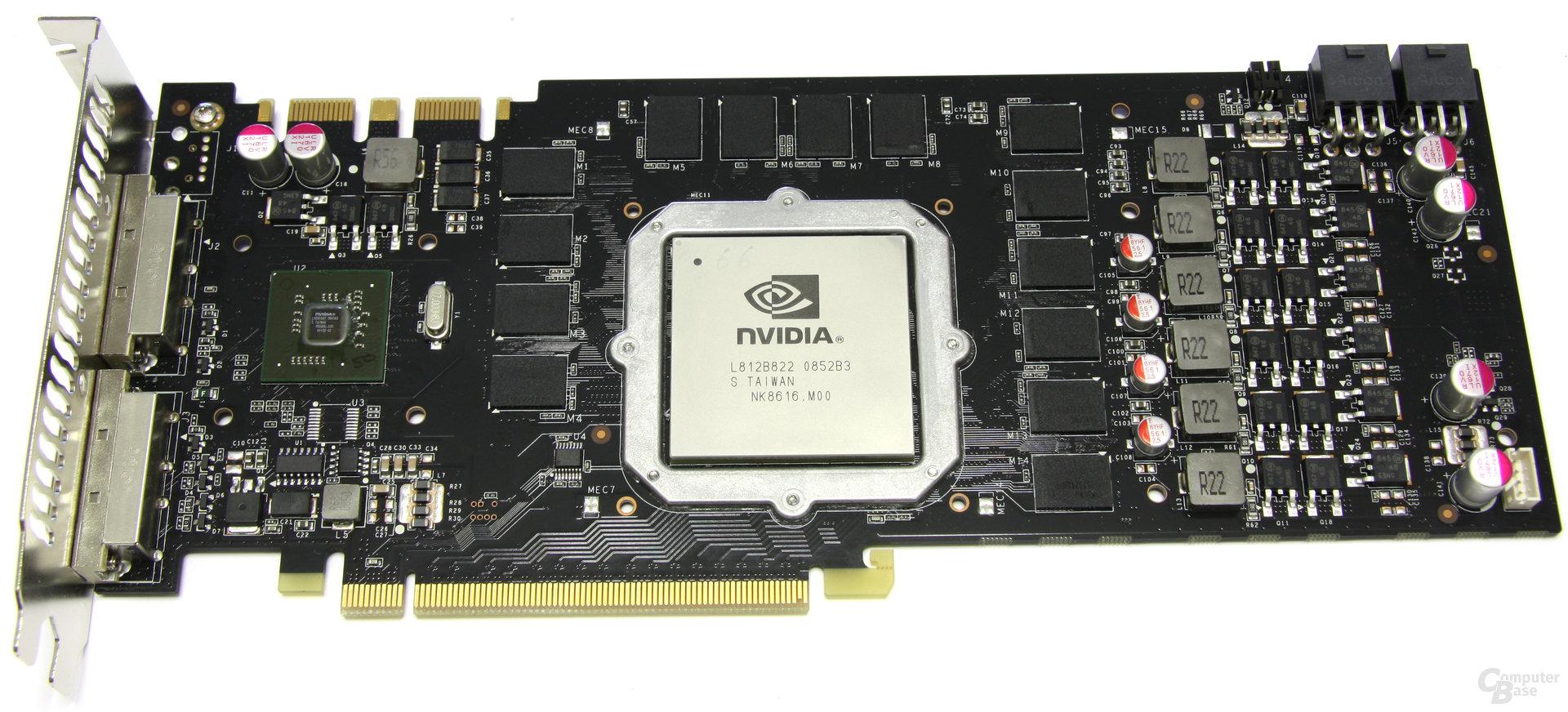 GeForce GTX 275 ohne Kühler