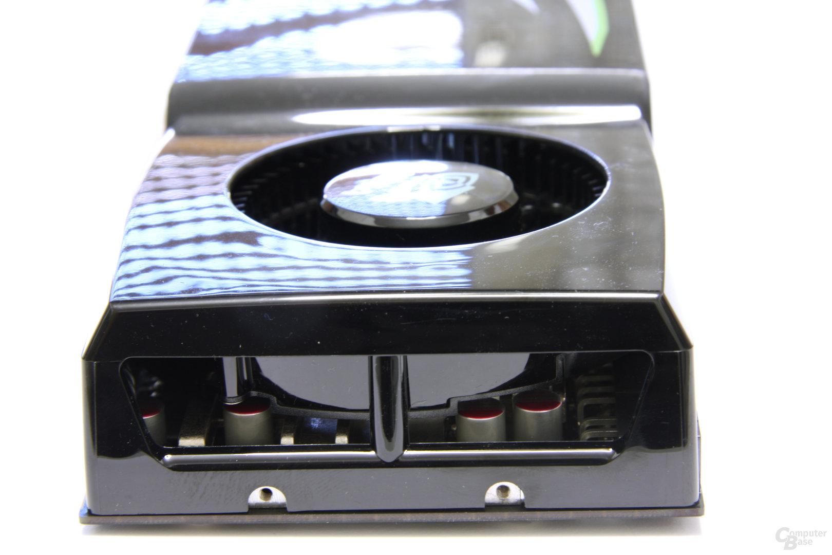 GeForce GTX 275 von hinten