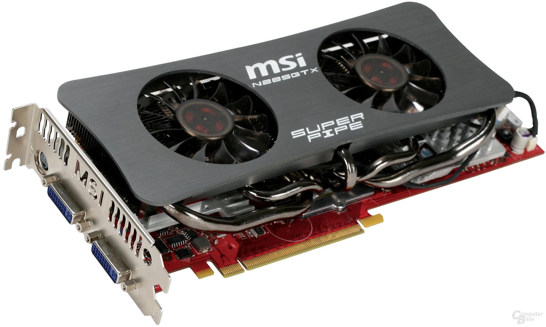 """MSI GeForce GTX 285 """"SuperPipe"""