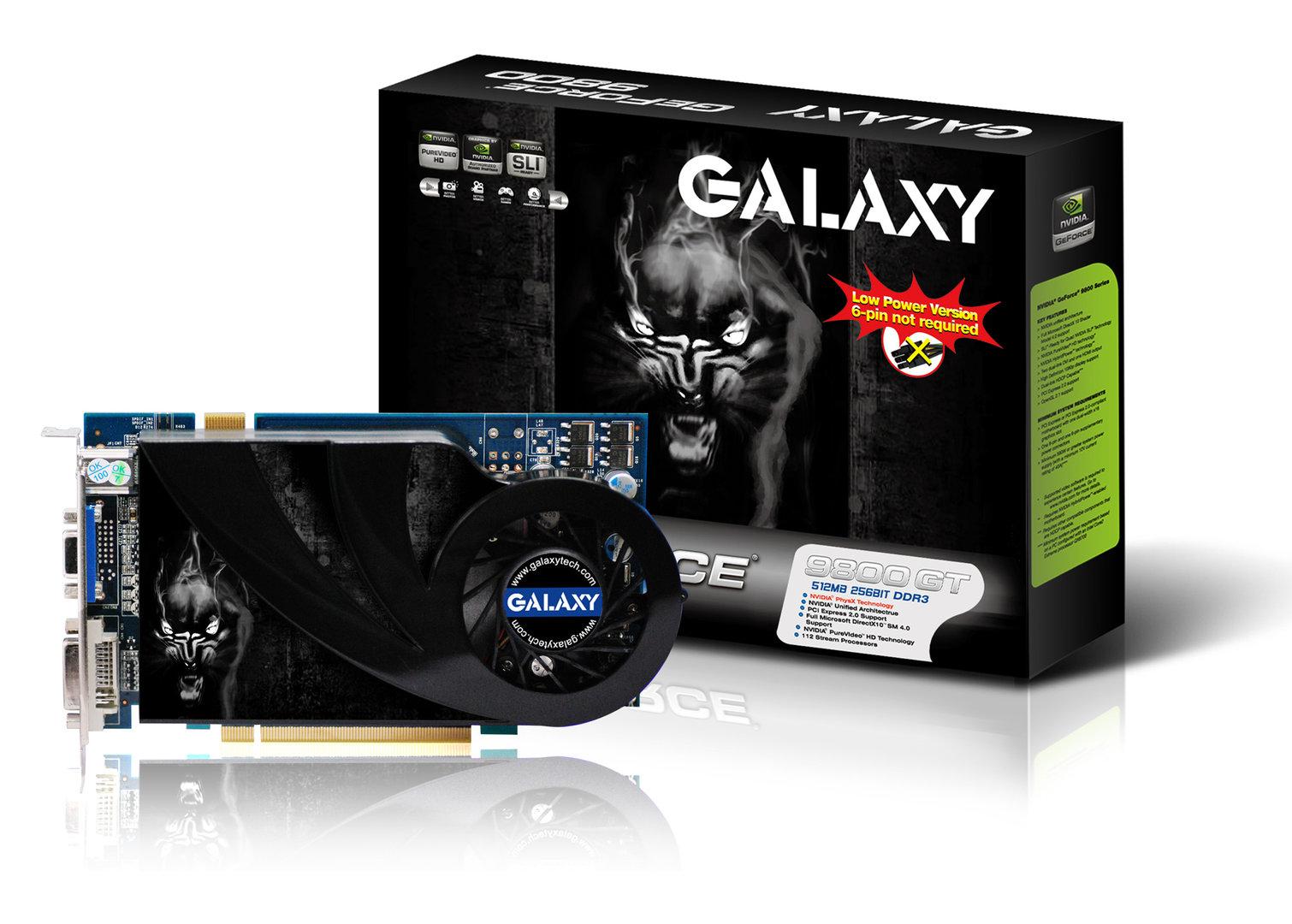 Galaxy 9800 GT Green mit (wahrscheinlich) 1 GByte