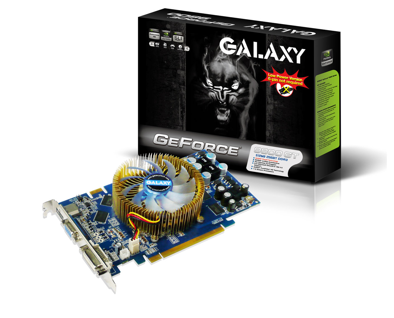 Galaxy 9800 GT Green mit (wahrscheinlich) 512 MByte