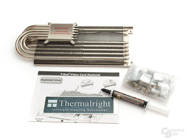Thermalright T-Rad² Lieferumfang