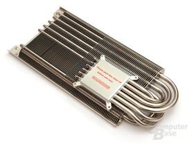 Sechsfach-Heatpipe und Hybrid-Kühler