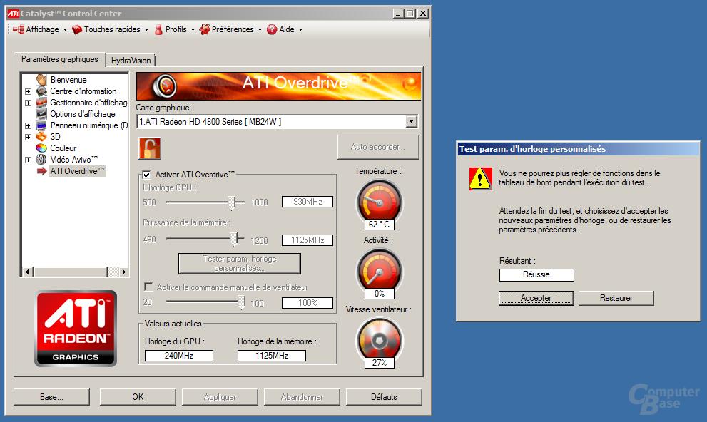 Übertakten der ATi Radeon HD 4890