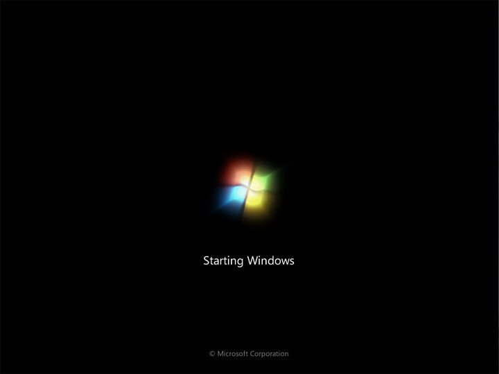 Windows 7 Build 7068: Interaktives Setup