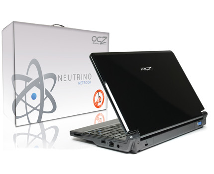 "OCZ Neutrino 10"" DIY Netbook"