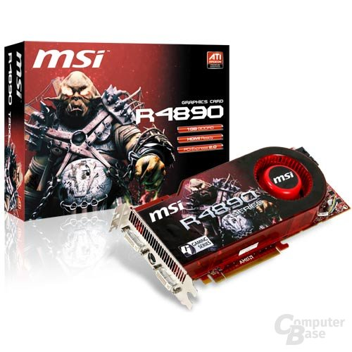MSI R4890-T2D1G