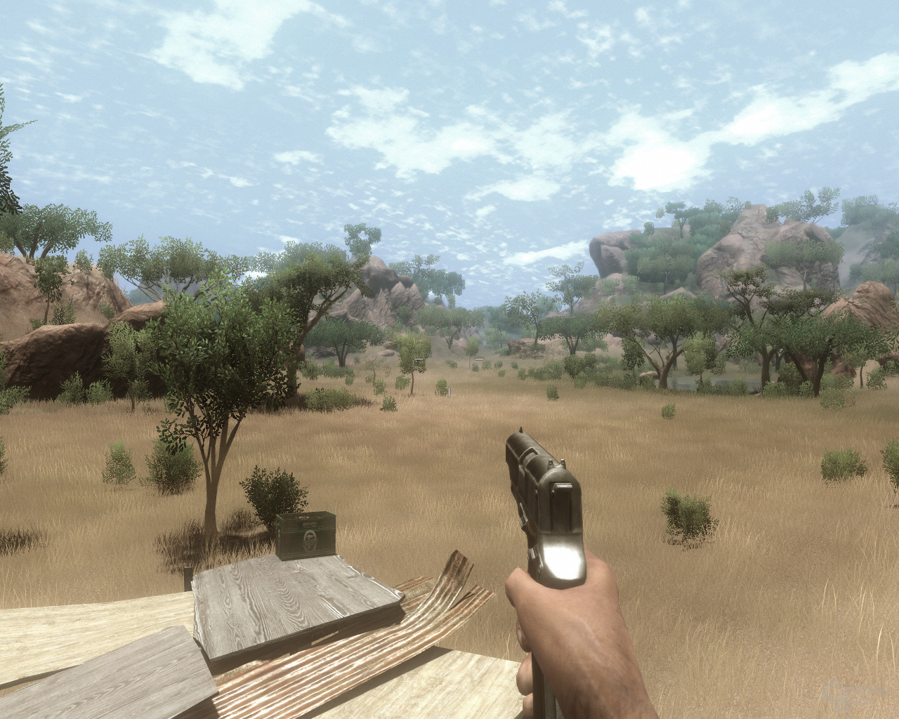 Far Cry2 ohne Ambient Occlusion