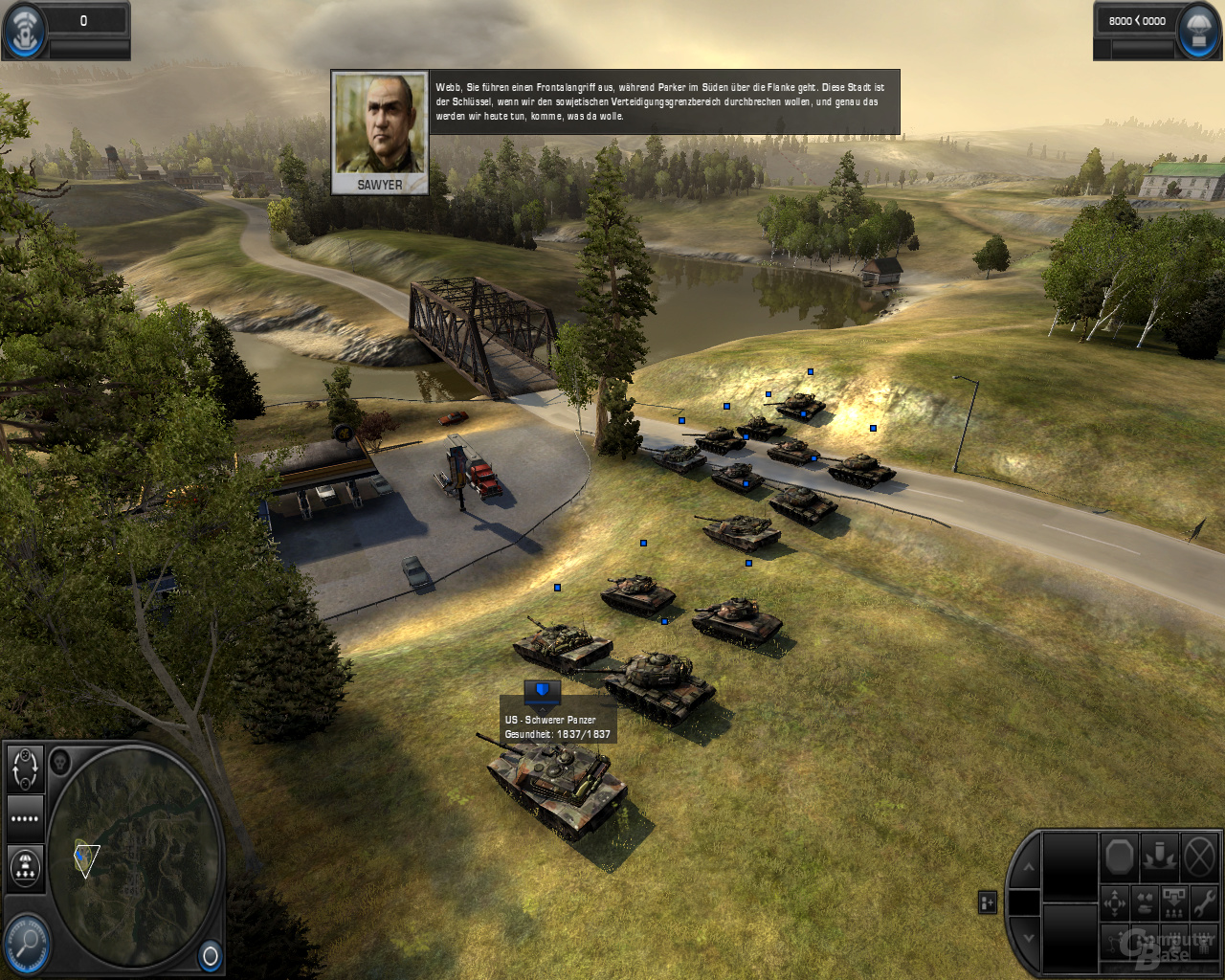World in Conflict mit Ambient Occlusion