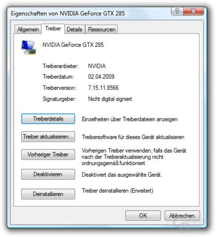 Nvidia GeForce 185.66