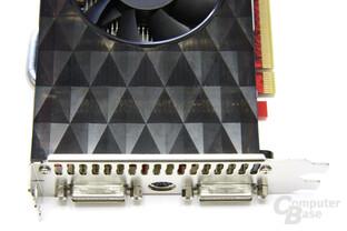Radeon HD 4850 GS 1GB von oben
