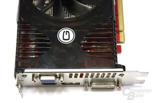 Radeon HD 4850 GS GLH Anschlüsse