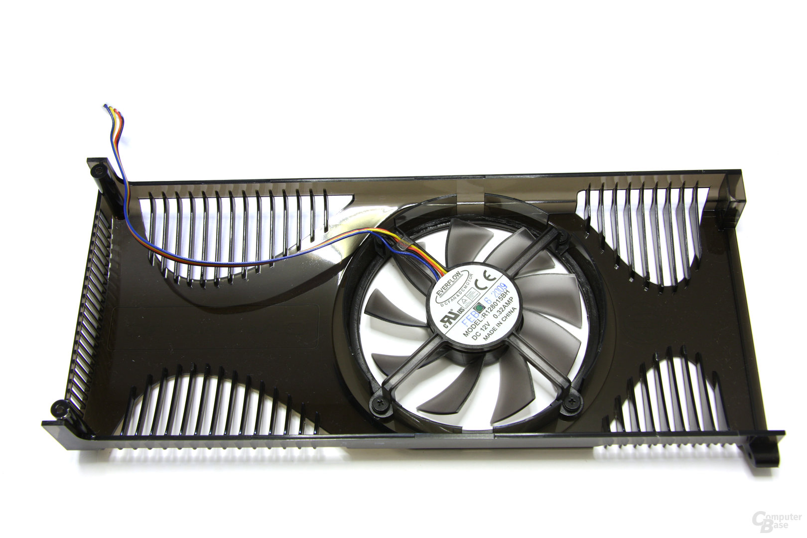 Radeon HD 4850 GS GLH Lüfterrückseite