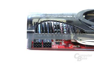 Radeon HD 4850 GS GLH Stromanschlüsse