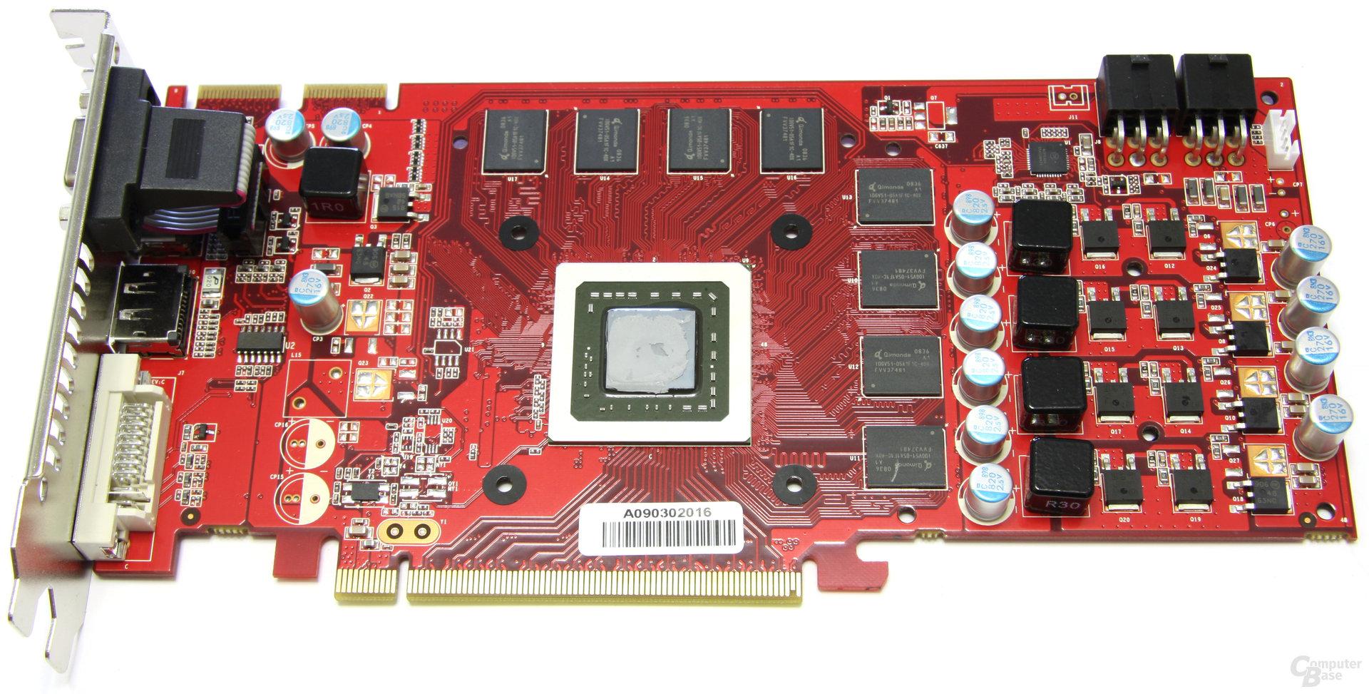 Radeon HD 4850 GS GLH ohne Kühler