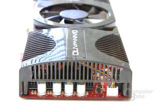 Radeon HD 4850 GS GLH von hinten