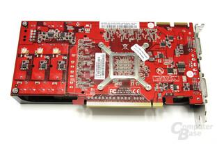 Radeon HD 4850 GS 1GB Rückseite