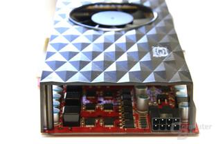 Radeon HD 4850 GS 1GB von hinten