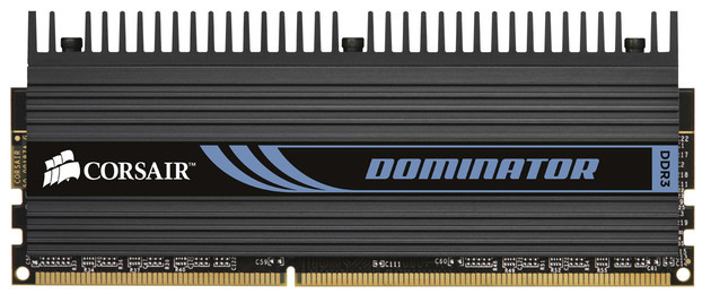 DDR3-1600 Corsair Dominator
