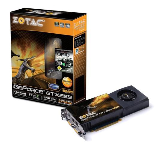 GeForce GTX 285 AMP!