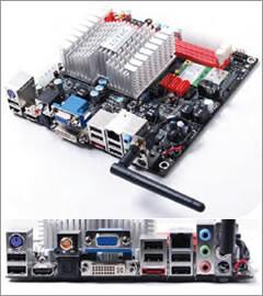 Zotacs Mini-ITX-Mainboards mit Ion und Dual-Core-Atom