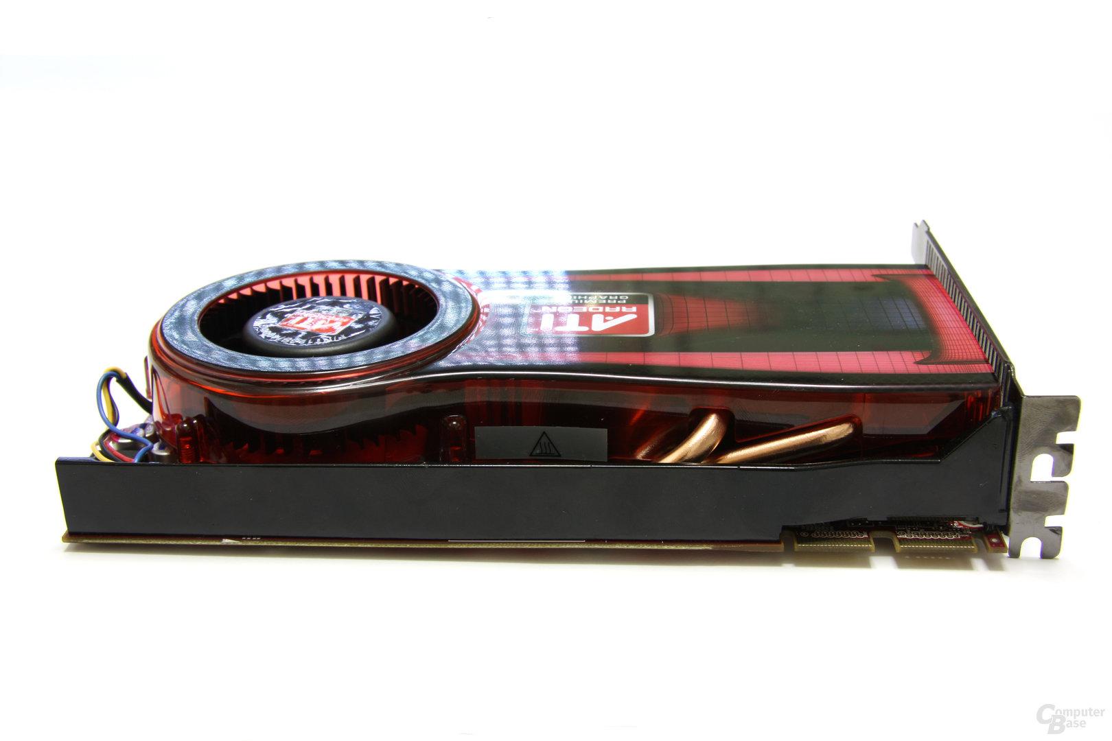 Radeon HD 4770 Seitenansicht