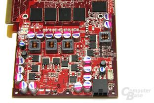 Radeon HD 4770 Spannungswandler