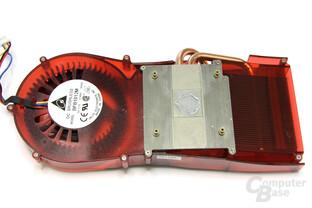 Radeon HD 4770 Kühlerrückseite